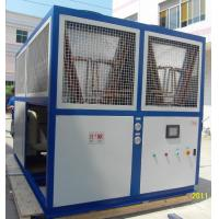 Quality Plate Heat Exchanger Evaporator Industrial Water Chiller With Semi-Hermetic Screw Compressor wholesale