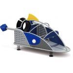 China Plastic Slide Kids Toy Air Plane Equipment Outdoor Children Playground for sale