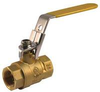 "Quality brass lockable ball valves with locking handle 200WOG, 1"" wholesale"