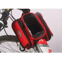 Quality Water Resistant Bicycle Top Tube Bag , Small Top Tube Phone Bag 12*10*5CM wholesale