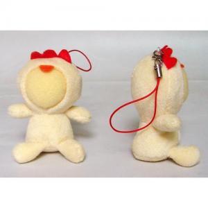 Supply 3d face doll-Chicken