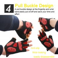 China short finger gym gloves racing fitness gloves new design factory price breathable gloves on sale