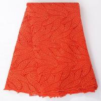 Quality 2015 Factory Price Wholesale Quality Guipure Inidan Lace Embroidery Fabric for Party wholesale