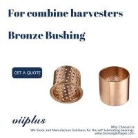 China Combine Harvesters Bronze Sleeve Bushings 50x53x40mm Id 12-100 Mm Longlife on sale