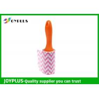 Quality Disposable Lint Roller Remover With Printe Paper Multi Function 6CM / 10CM / 16CM wholesale