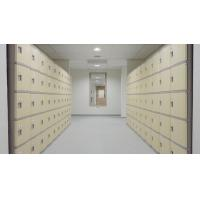 China Anti Corrosion ABS Swimming Pool Lockers Green /4 layer /green door on sale