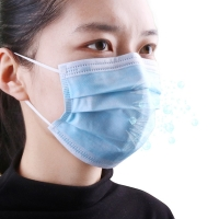Quality Anti Flu Antiviral Breathable 3 Layer Face Mask wholesale