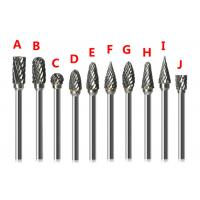 Buy cheap 1/2 x 1 cylindrical ball nose carbide bur double cut from wholesalers