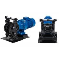 China Cast Steel Electric Diaphragm Pumps Double Diaphragm For Waste Water Transfer DN40 on sale