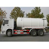 China 6X4 Euro2 290HPRoad Vacuum Tanker Truck / Sewage Pump Tanker / Sewage Suction Tanker Truck on sale