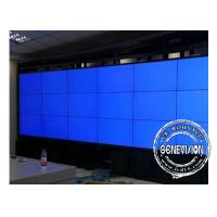 Buy cheap 4*8 Floorstanding Cabinet 46inch Samsung Seamless LCD Video Wall with 12 in/32 from wholesalers