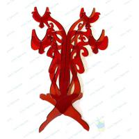 Quality CH (53) red Acrylic candle holder wholesale