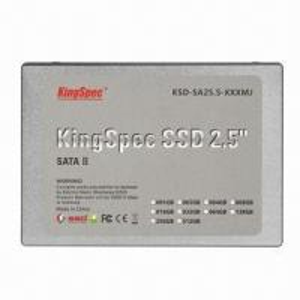 Quality 2.5-inch SATA 64GB MLC SSD/External Hard Drive, 140/128MB/Second R/W Speed, 5V ±5% Voltage wholesale