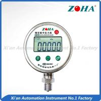 China High Precision Digital Pressure Gauge With Data Logger 5 Digits Display on sale