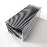 China 100w Led Heat Sink Aluminum Extruded Heat Sink Profiles 6061/6063/6005 Material on sale