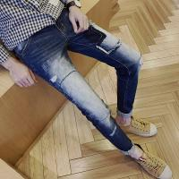 China Pairing White Mens Super Skinny Jeans , Creative Mens Fashion Skinny Jeans on sale