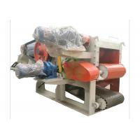 Quality Heavy Duty Mobile Veneer Wood Crusher Machine 1400*12000mm Discharge Conveying wholesale