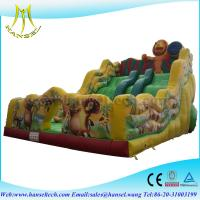 Quality Hansel Customized Inflatable Amusement Slide ,Inflatable Slides For Kids Bouncer Toy wholesale