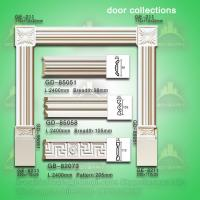 Buy cheap Classic european style PU door lintel moulding from wholesalers