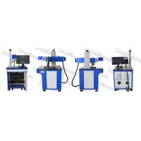 Buy cheap High Efficiency Co2 Laser Marking Machine Blue Color For QR Code / Paper Boxes from wholesalers