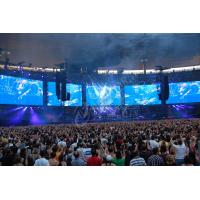 Buy cheap High Brightness Stage P10 Full Color LED Display Video Wall Curtain Led Screen product