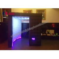Quality Customized LED Inflatable Photo Booth Props Portable Spray Booth For Party wholesale