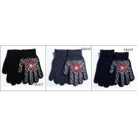 Quality kids' knitted gloves acylic gloves SK027-sk029 beautiful style children magic gloves wholesale