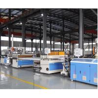 Quality CE Construction Template Wood Plastic Composite Extrusion Line Extruder Machine wholesale