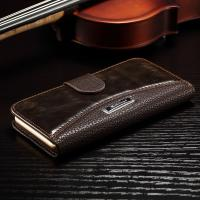 Quality Anti - Dirt Iphone 6 Leather Wallet Case , Colorful Crazy Horse Leather Wallet Case wholesale