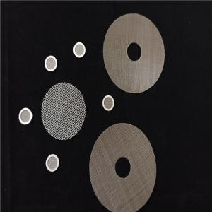 Quality Extruder Screens For Food Contact Polymer Filtration Diameter 220Mm wholesale