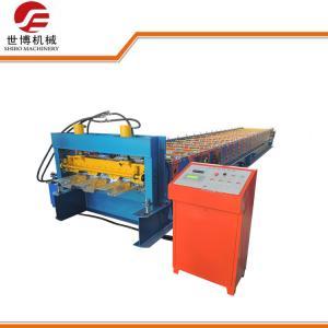 Quality High Technology Sheet Metal Forming Equipment Galvanized Steel Floor Deck Machine wholesale