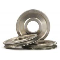 Quality Diamond Coated Abrasive Grinding Wheel For 3 - 12mm Glass Round N Straight Edge wholesale