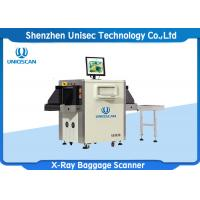 Quality Small Size X Ray Baggage Scanner , luggage X Ray Machine Tunnel Size 500*300 wholesale