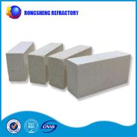 Quality Square Shape High Purity Refractory Fire Bricks White Color For Glass Furnace wholesale