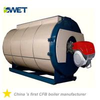 High efficiency 8.4 MW gas oil hot water boiler for Food Industry
