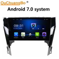 Quality Ouchuangbo car multimedia stereo android 7.0 for Toyota Camry 2012-2013 with USB SWC 1080P Video music bluetooth wholesale