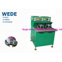 Quality Green Ceiling Fan Motor Winding Machine Individual Control 8 - 40mm Core Length wholesale