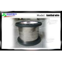 China 0.16mm E Cig Wire A1 Kanthal Flat Ribbon For Rebuildable Atomizers , 42ohm / Meter on sale