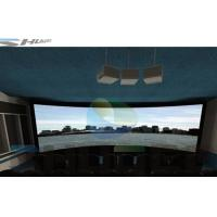 Quality Special Effect 4D Cinema System With Motion Chair , Flat / Arc/ Circular / Globular Screen wholesale