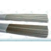 China Lightweight Silver / Grey Titanium Alloy Wire Polished With Low Density on sale