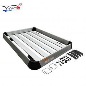 Quality Universal Aluminium Alloy Roof Rack Basket Silver / Black Color F005 Mb Model wholesale