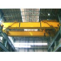 Quality Low Noise Double Beam Overhead Crane 50 Ton Explosion Proof 5 - 15M / Min Lifting Speed wholesale