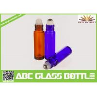 Cheap Hot Sale 3ml 5ml 10ml Empty Roll On Glass Bottle With Screw Cap,Custom Samples Essential Oil Bottle With Your Logo for sale