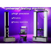 Quality 10KN Electronic Universal Testing Machine Protecting Functions Of Over Load wholesale