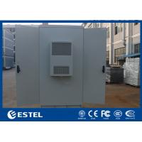 Quality Two Doors Outdoor Equipment Cabinet Power Enclosures 42U Internal Size With PDU wholesale