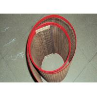 China Waterproof PTFE Mesh Joint For Baking Mat / Food Processing Gridding Cloth on sale