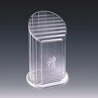 Quality Sport Prize Acrylic Award Trophy With Carve Letter 320 * 180mm wholesale