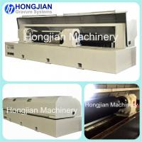 Quality Laser Engraving Machine for Etching Mask Ablation Fiber Laser Beam Embossing Rollers Decorative Cylinders Security Print wholesale