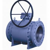 Quality 12 Inch Trunnion Mounted Ball Valve , API6D Flanged Reduced Bore Ball Valve wholesale