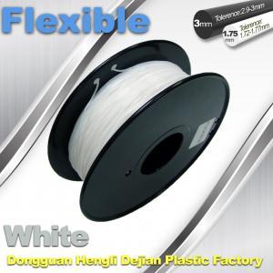 Quality 1.75 / 3.00mm Elastic Filament For 3D Printers Makerbox / Reprap wholesale